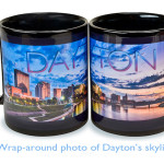 Dayton Ohio skyline Mug promo photo