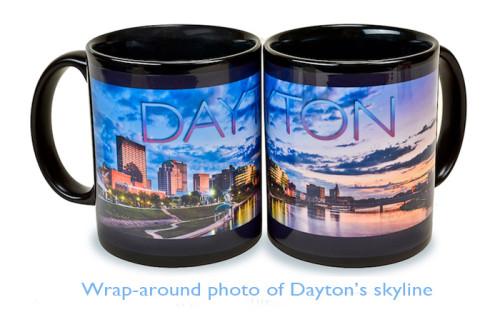 Dayton Ohio skyline Mug promo photo
