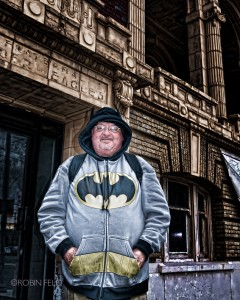 Batman on Main Street