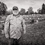 Workin' Photo Series: At the cemetery