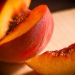 Food-fruit-peach-healthy living