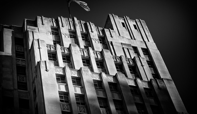 Up Series: Deco, former Liberty Bank Building