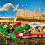 Riding the dragon at the fair
