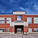 Stivers High School Entrance, Dayton Ohio