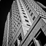 Up Series: Fifth Third Center Building, Black & White
