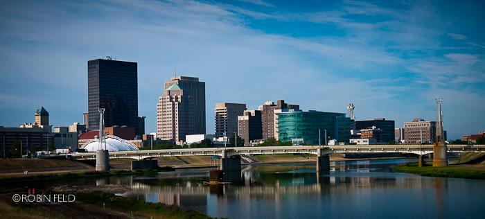 Dayton Skyline, low water summer '12
