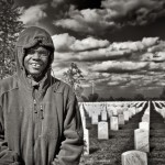 Grounds keeper at the VA Cemetery