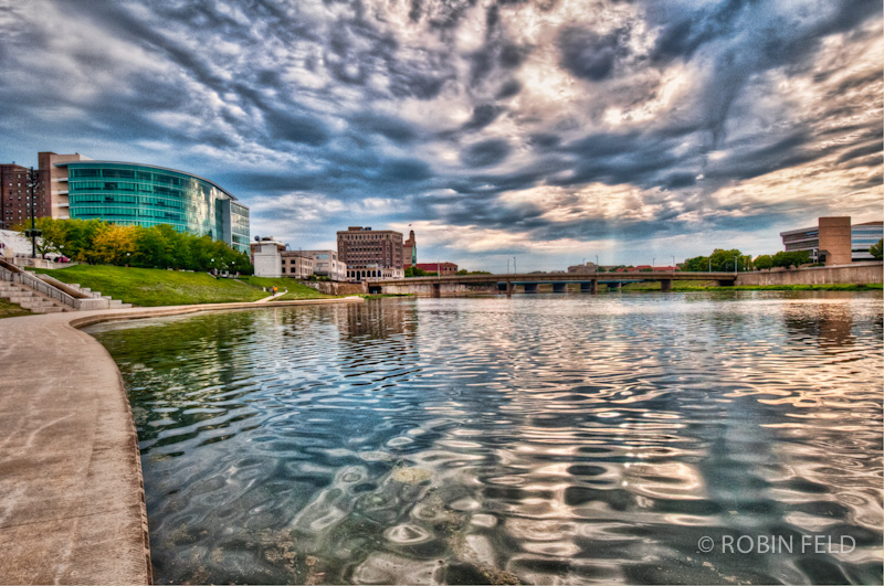 Riverscape HDR Dayton OH