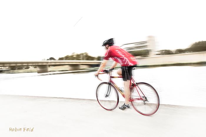 Bicycling at Riverscape, Dayton Ohio
