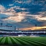 Fifth Third Ballpark at sunset, Dayton Ohio