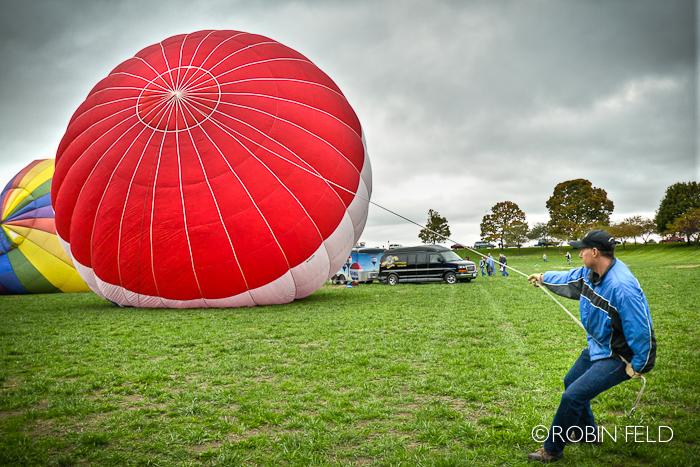 Hot Air Balloon Wrangling