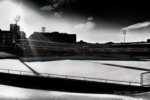Fifth Third field in snow