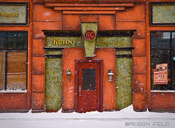 Kuhns Building Entrance