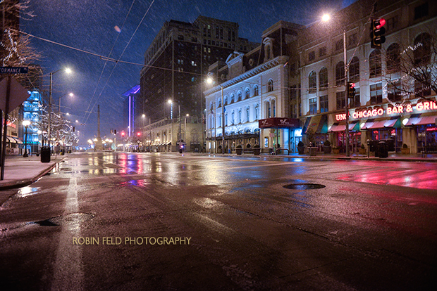 Main Street at night