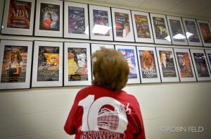 Backstage tour photo