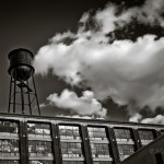 Urban photo of water tank