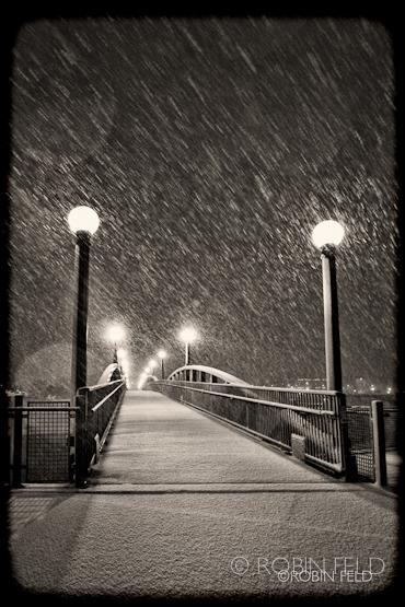 Pedestrian Bridge: Sepia