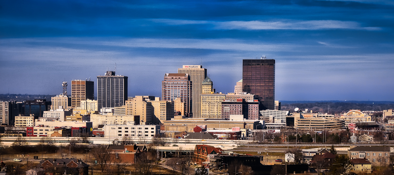 Skyline Dayton Ohio