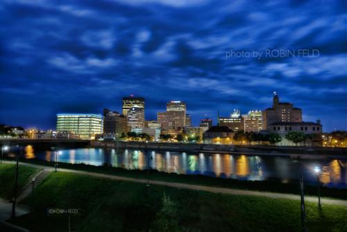 Dayton-Ohio-Skyline