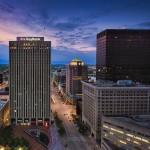 Sunset on Main St. Dayton Ohio