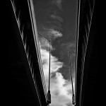 Urban Abstract BW Bridge