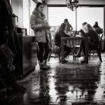 winter coffee shop