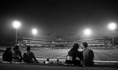 Baseball game Dragon's Dayton Ohio