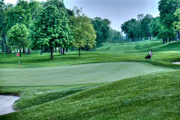Evening golf at NCR Country Club