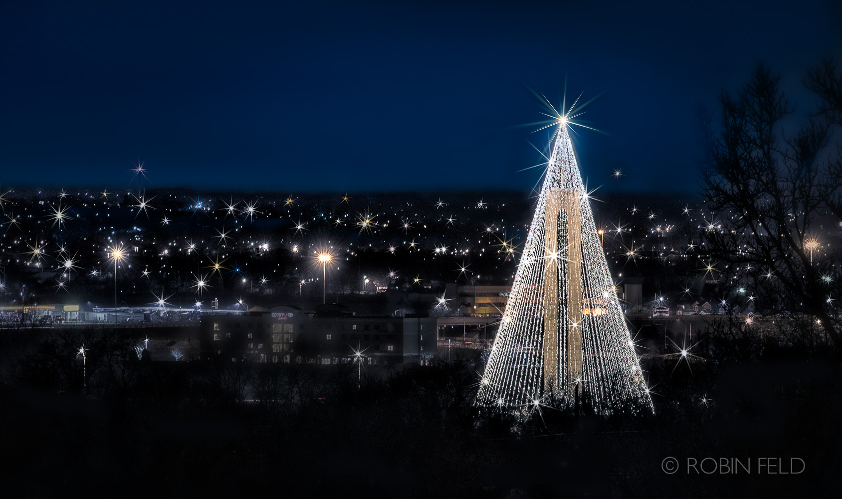 Carillon Tree of Lights Dayton Ohio
