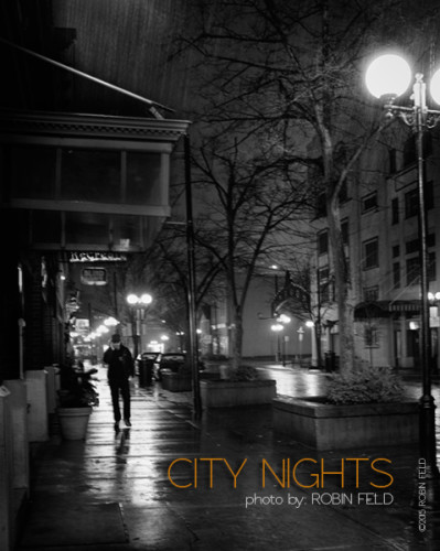 Rainy City Night