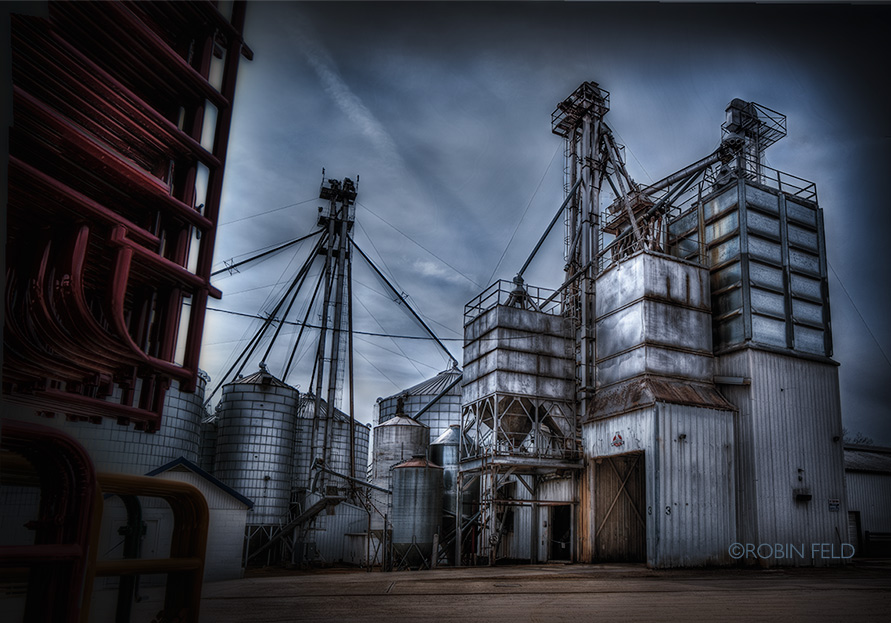 Grain Tanks- agricultural HDR