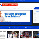 Website project for automotive repair