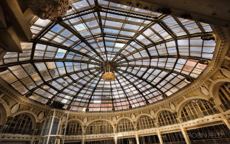 Dayton Arcade Rotunda- Golden light