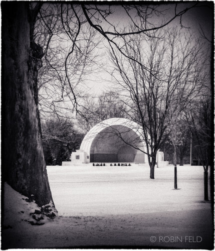 Bandshell, winter