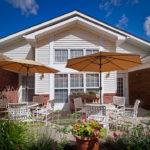 Senior living: condo exterior