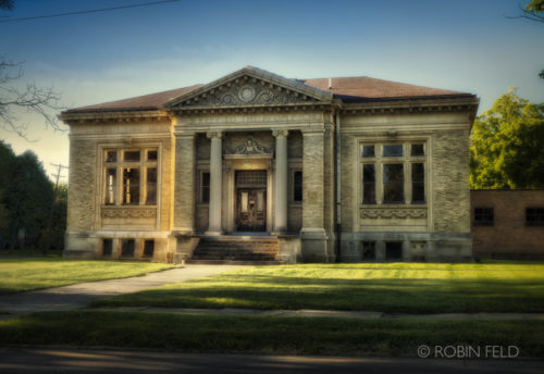 Historic building: Carnegie Library, Xenia Ohio
