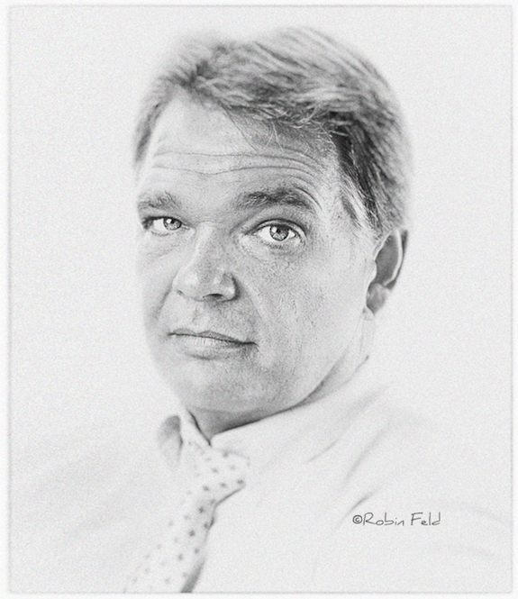 Portrait Male in black and white